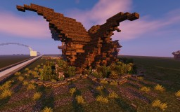 Fantasy/Elven Small House Minecraft Map & Project