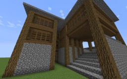 Medium Sized 5 Room Manor Minecraft Map & Project