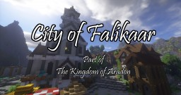 Falikaar, Capital of the Kingdom of Aradon Minecraft