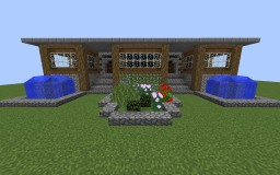 Small Manor Unfurnished Minecraft Map & Project