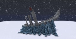 Avatar- The last airbender: Frozen firenation ship Minecraft Map & Project