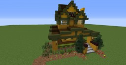 American Craftsman House Minecraft Project