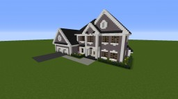 2 Story Suburban House Minecraft Map & Project