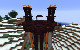 Nether Fortress Minecraft Map & Project