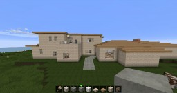 Two And a Half Men Beach House Minecraft Project