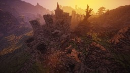 Legends of Valeros Savannah Minecraft Map & Project