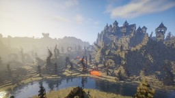 Legends of Valeros Desolated Plains Minecraft Map & Project