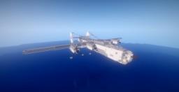 Consolidated B-24 Liberator of the RAF Coastal Command Minecraft