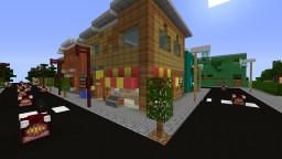 A stylish town project Minecraft