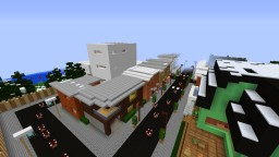 A stylish town project Minecraft Map & Project