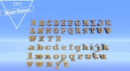 Letter Pack / Alphabet Pack Minecraft Map & Project