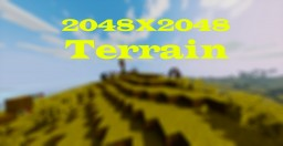 Terrain 2048X2048 Minecraft Map & Project