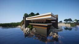 AquaHolic Manor (Modern House) Minecraft Project