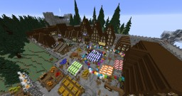 Minaris european medieval city Minecraft Map & Project