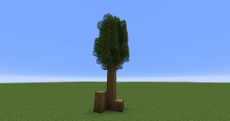 simple tree model Minecraft Project