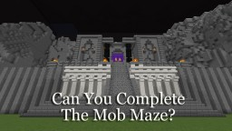 Mob Maze (an Original Minigame) Minecraft Map & Project