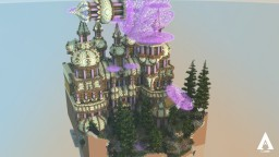 The Citadel of Black Rock Forest Minecraft Project