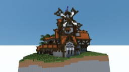 Fantasy Windmill Minecraft Map & Project
