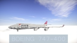 Boeing 747-400 Minecraft Map & Project