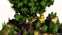 The heaven garden Minecraft Map & Project