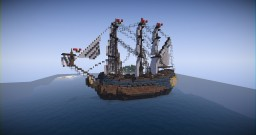 18th Century Spanish Ship | Azul Minecraft Project