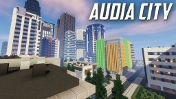 Audia Project: Huge Minecraft City (World Record) Minecraft