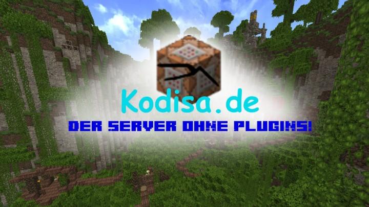 Kodisade Der Server Ohne Plugins Minecraft Server - Minecraft spiele ohne plugin