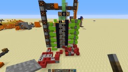 Complicated Slime elevator Minecraft Map & Project