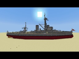 1:1 Scale HMS Dreadnought Minecraft Map & Project