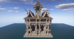 Steampunk Inn Minecraft Project