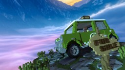 """""""Trabant"""" The Car Minecraft Project"""