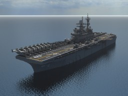 USS Makin Island (LHD-8) Minecraft Project