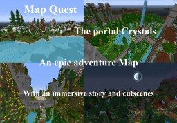 Map Quest The Portal Crystals Minecraft Project