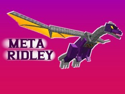 Metroid - Meta Ridley Battle in Minecraft Minecraft