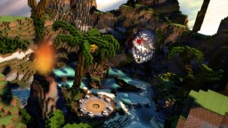 Minecraft Project: TropicaPvP Server Spawn By Artion Minecraft Project