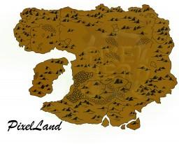 The map of PixelLand - 10.000x10.000 Minecraft