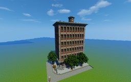 Victorian Style Building Minecraft Map & Project