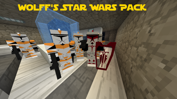 Popular Mod : [1.12.2/1.7.10] Wolff's Star Wars Pack 2.2 for Flan's mod
