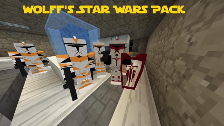 Wolffs Star Wars Pack For Flans Mod Minecraft Mod - Minecraft maps fur flans mod