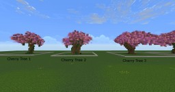 Cherry Tree Bundle(singles) Minecraft Project