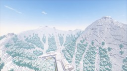 Tri-Peak Ski Resort Minecraft Map & Project