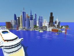 Green city Minecraft
