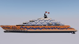 Megayacht in process Minecraft Project