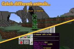 WildHunt – Catch over 100 different animals! || Beta || 1.8 - 1.12 Minecraft