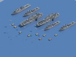 Landing fleet Minecraft Project