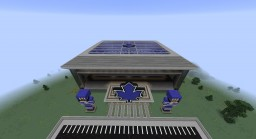 Full Size Hockey Arena Minecraft Map & Project