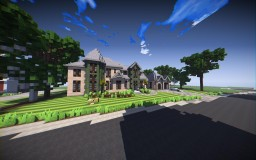 Traditonal House w/VinceDC |UseTheBlocks| Minecraft Map & Project