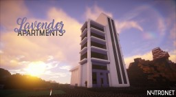 Lavender Apartments | A modern build - MineWood Minecraft Map & Project