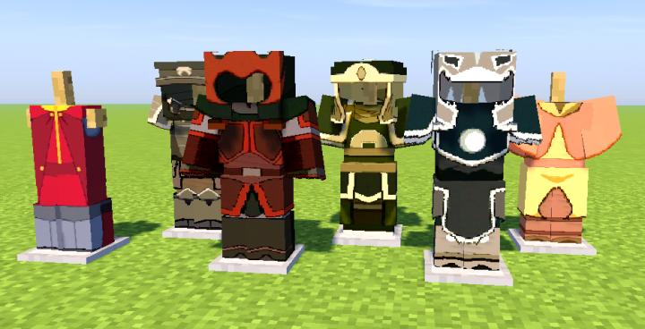 Avatar - HD Armor (Optifine 1 12 1 HD U C5) Minecraft Texture Pack