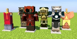 Avatar - HD Armor (Optifine 1.12.1 HD U C5) Minecraft Texture Pack